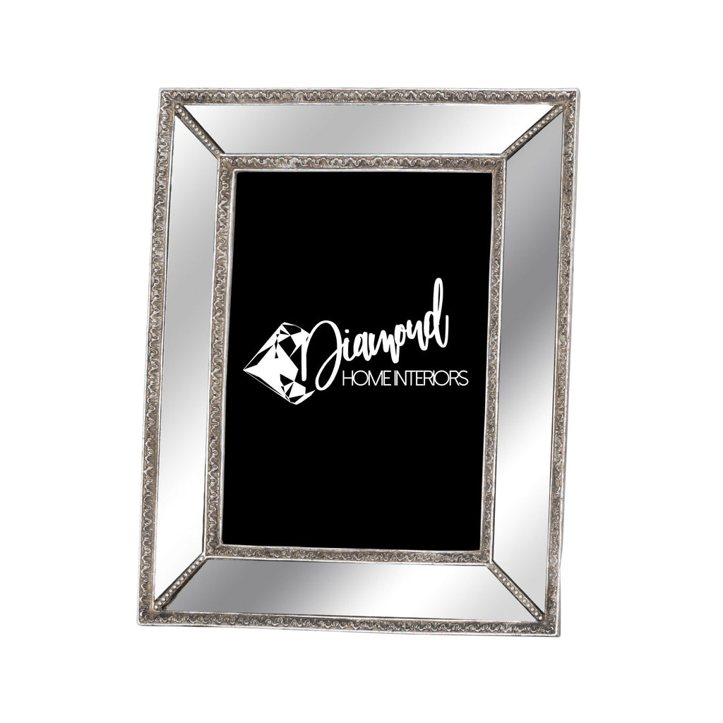 Mirrored Frame with Sparkle Detail