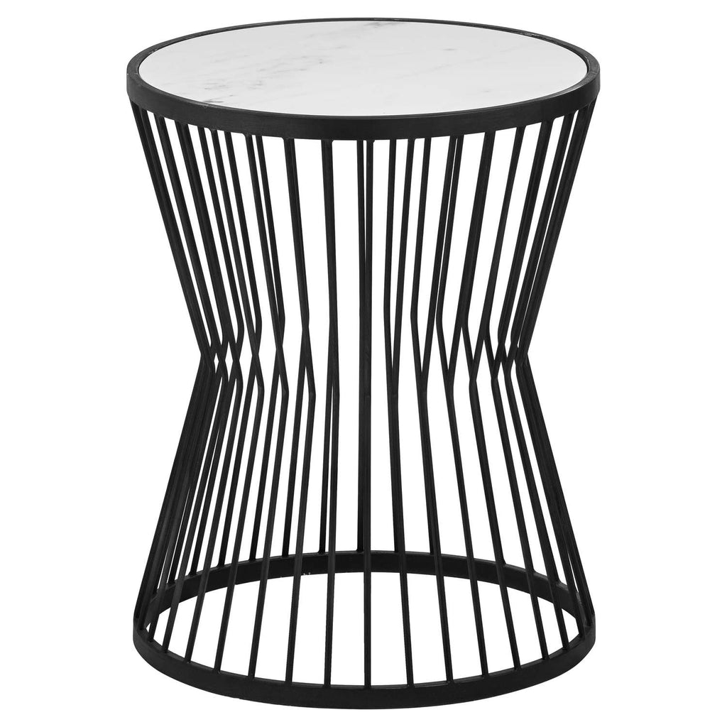 Mono Marble Cage Side Table