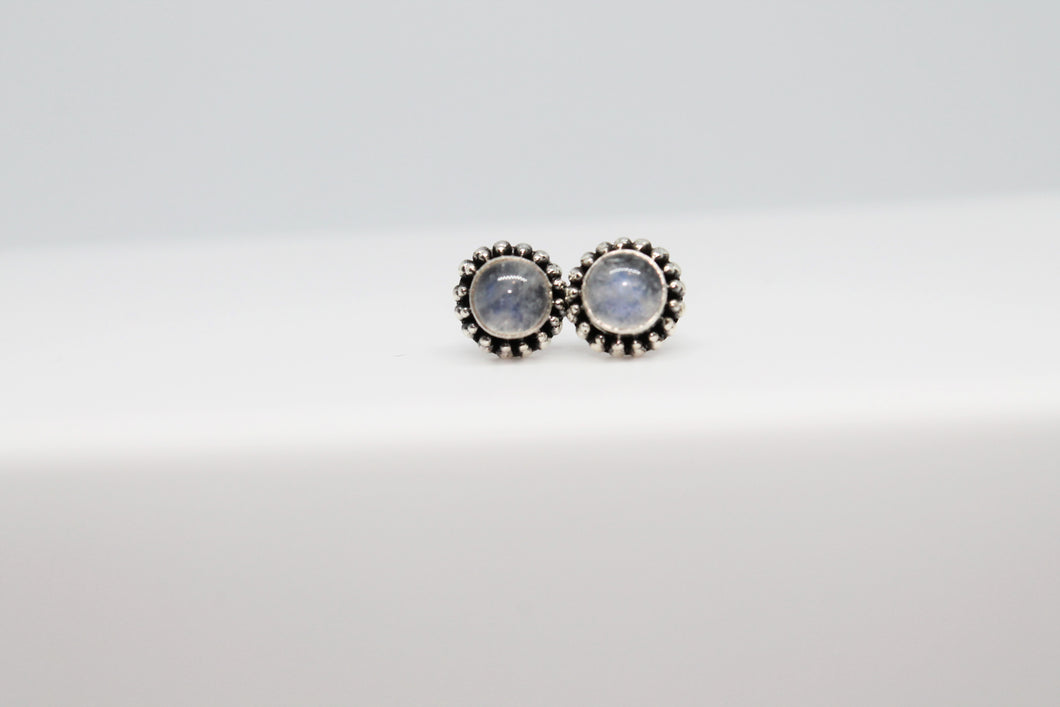 Moonstone 925 Stud Earrings