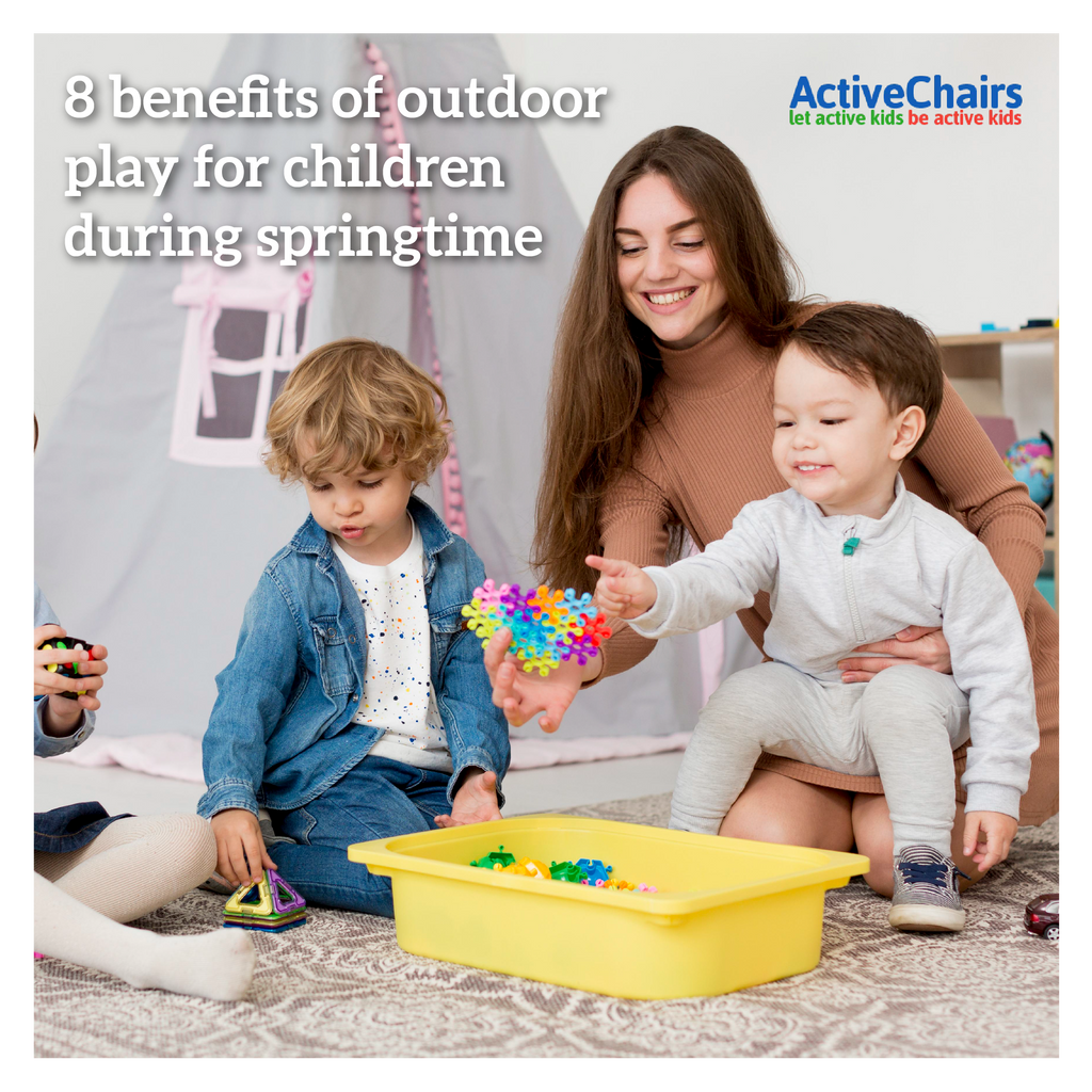 8 benefits of outdoor play for children during springtime