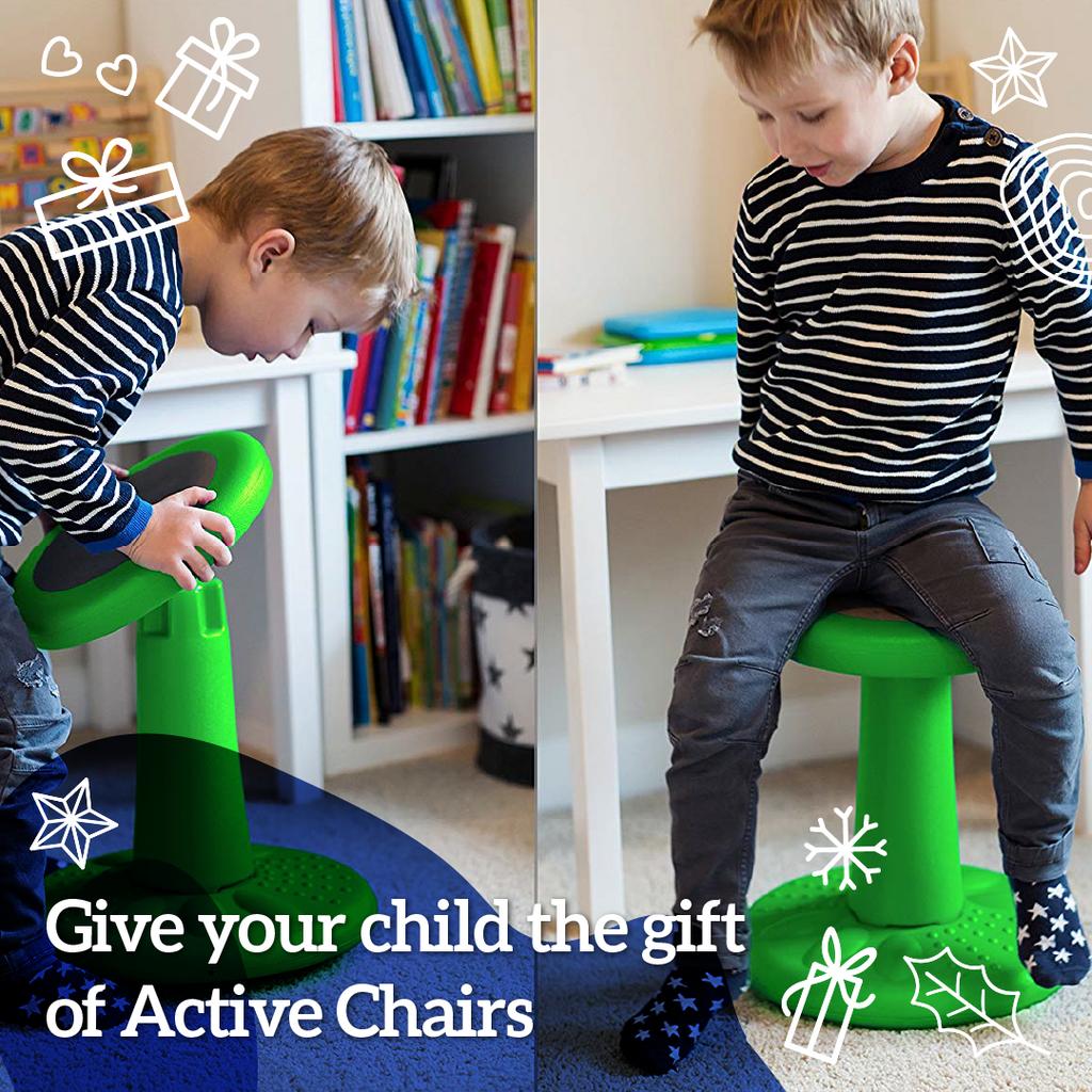 Give Your Child the Gift of Active Chairs.