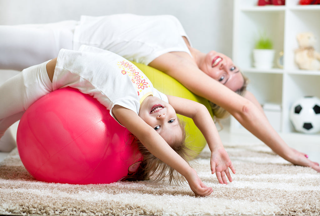 The importance of exercise for child's development