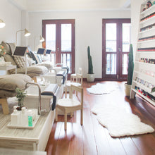 Interior of a nail spa