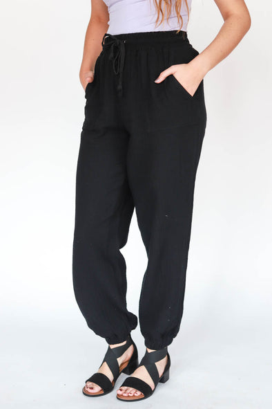 Afterglow Elastic Pants