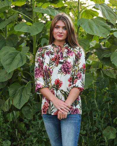 Ariane Floral Blouse