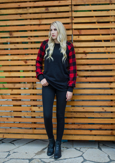 Claire Mid-Rise Black Skinny Jeans