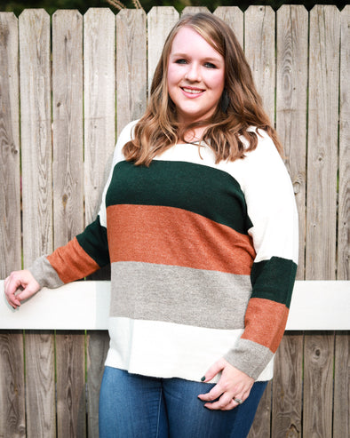 Collinson Striped Sweater