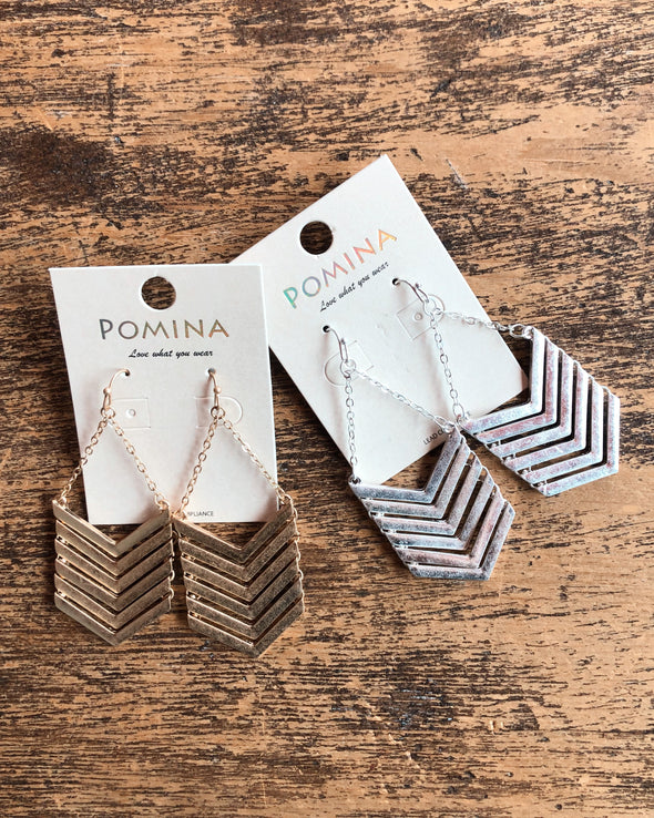 Chevron Dangles