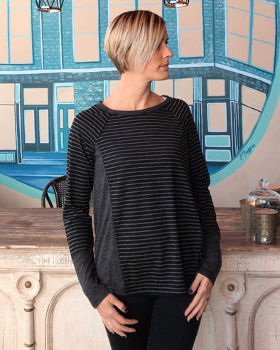 Fall For You Striped Pullover