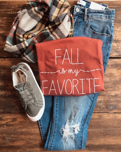 'Fall is my Favorite' Graphic Tee
