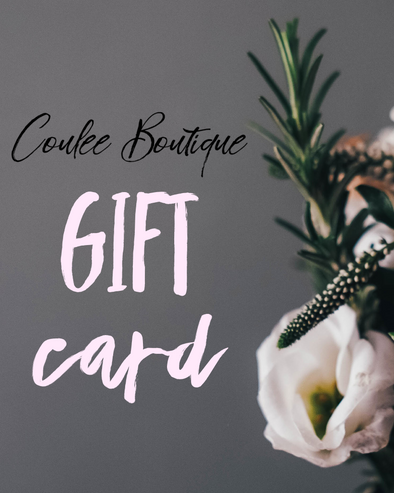 Coulee Boutique Gift Card