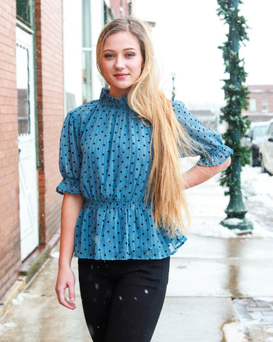 Indie and Dot Blouse