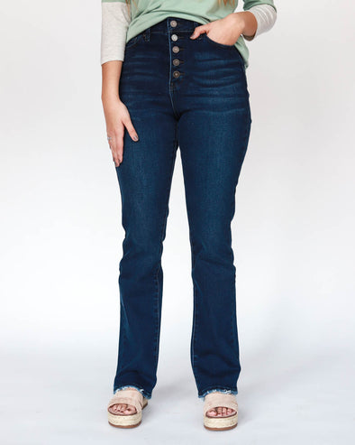 Indigo Super High Rise Denim