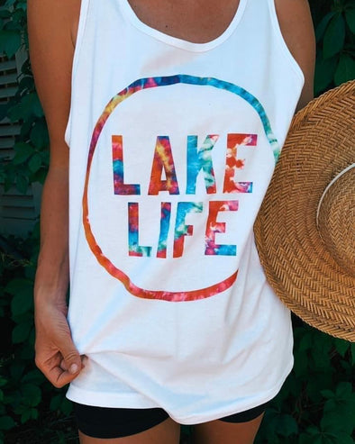 'Lake Life' Graphic Tank