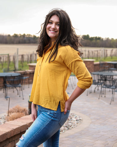 Mellow Yellow Blouse