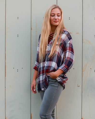 Relaxed Fall Flannel