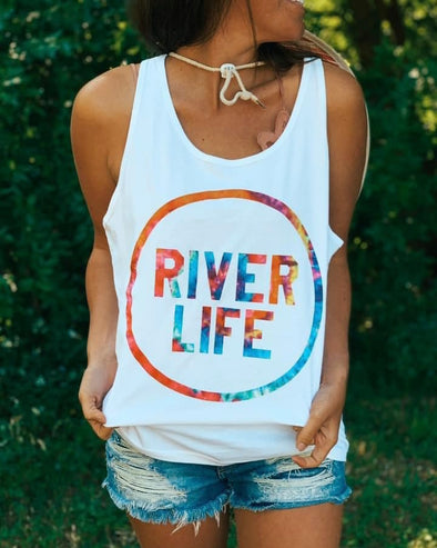 'River Life' Graphic Tank