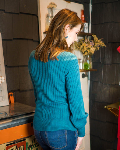 Teal Dream Sweater