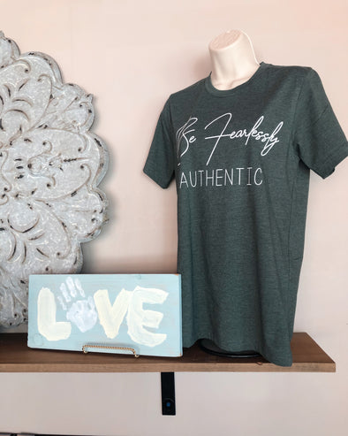 'Fearlessly Authentic' Graphic Tee