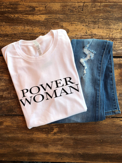 Power Woman Graphic Tee