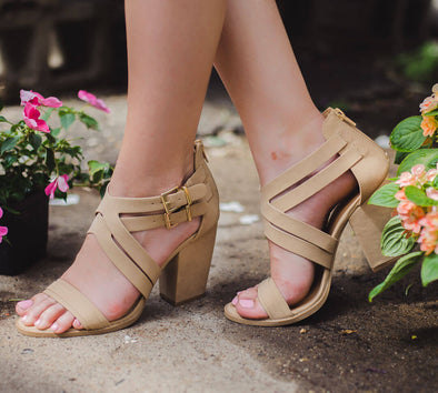 Lost in Love Tan Heel