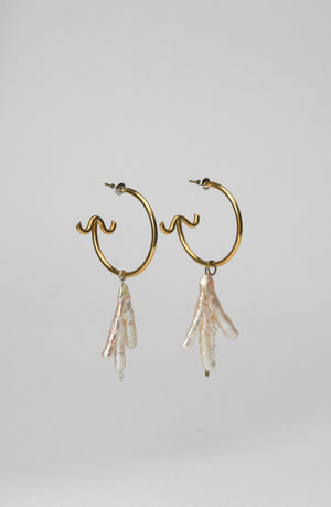 Sirena Hoop Earrings