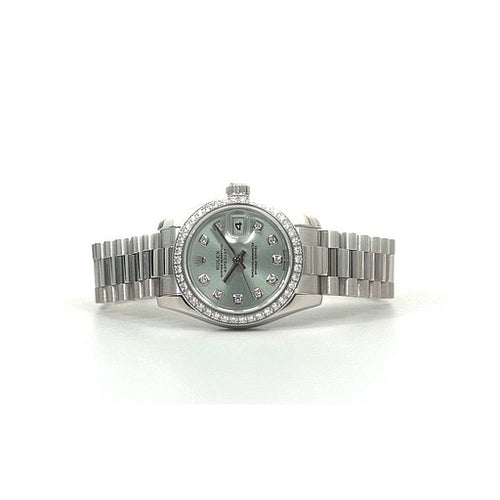 Preowned Rolex DateJust 26 Platinum