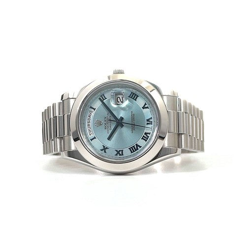Preowned Rolex Platinum Day-Date II
