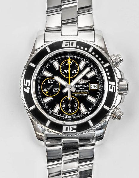 Preowned Breitling Superocean Chronograph