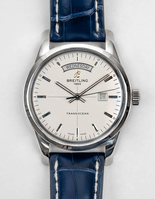 Preowned Breitling Transocean Day & Date