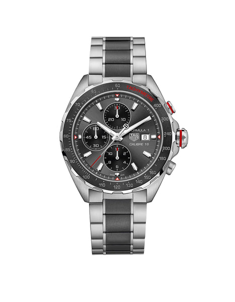 Formula 1 Calibre 16 Automatic Steel and Ceramic Chronograph