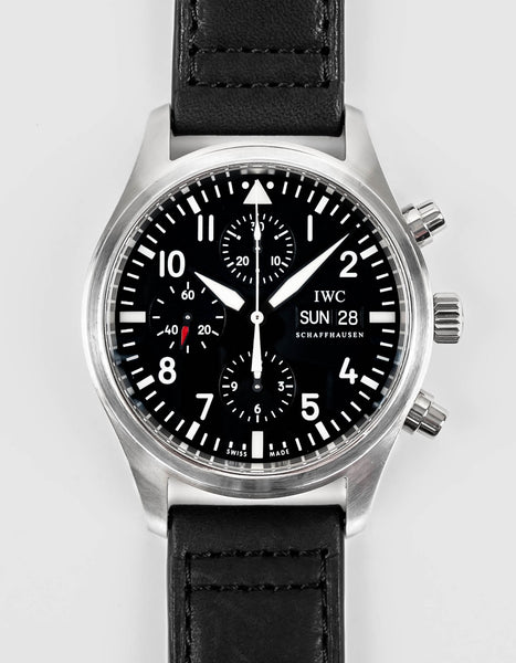 Preowned IWC Pilot Chronograph
