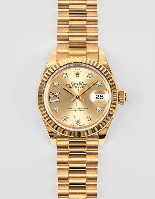 Preowned Rolex Lady-Datejust 28