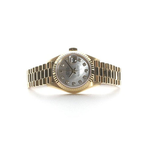 Preowned Rolex DateJust 26 President