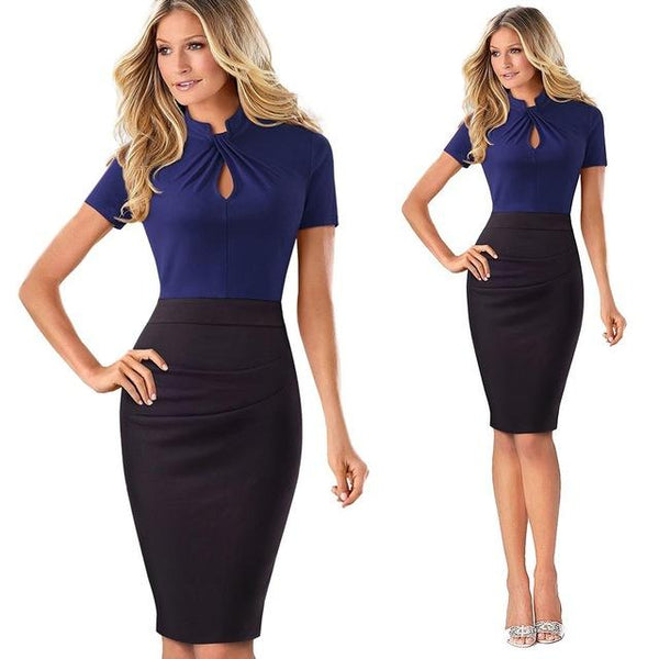Elegant Work Office Business  Bodycon Dress - Bec's luxury store