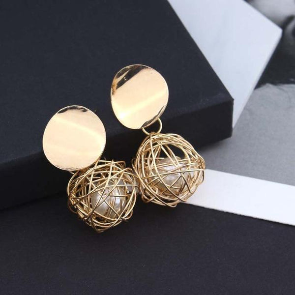 ball Geometric earrings - Bec's luxury store