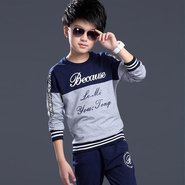teenage boys clothing sets - Bec's luxury store