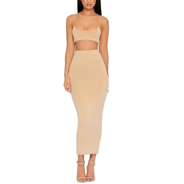 Two Piece Set dress - Bec's luxury store