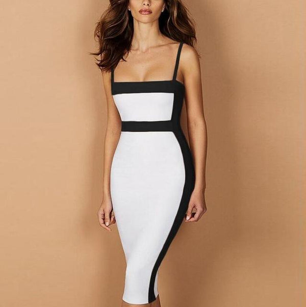 Women Sexy Bodycon Bandage Dress - Bec's luxury store