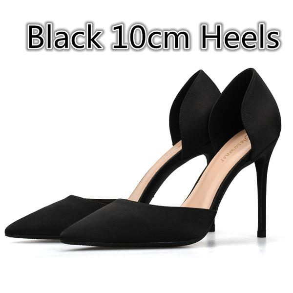 British Style Sexy Shallow Shoes for Woman Silk Mature Pumps Stiletto - Bec's luxury store