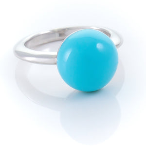 Xtinctio - This Etruscan Sphere ring is hand made in Italy by a 3rd generation Goldsmith.  Eco conscious 925 Silver and enamel.  Engraved with our logo serving as a constant reminder that in this age of extinction, we are all connected to every living thing. Our partner in Ocean Conservation is The Coral Reef Restoration.