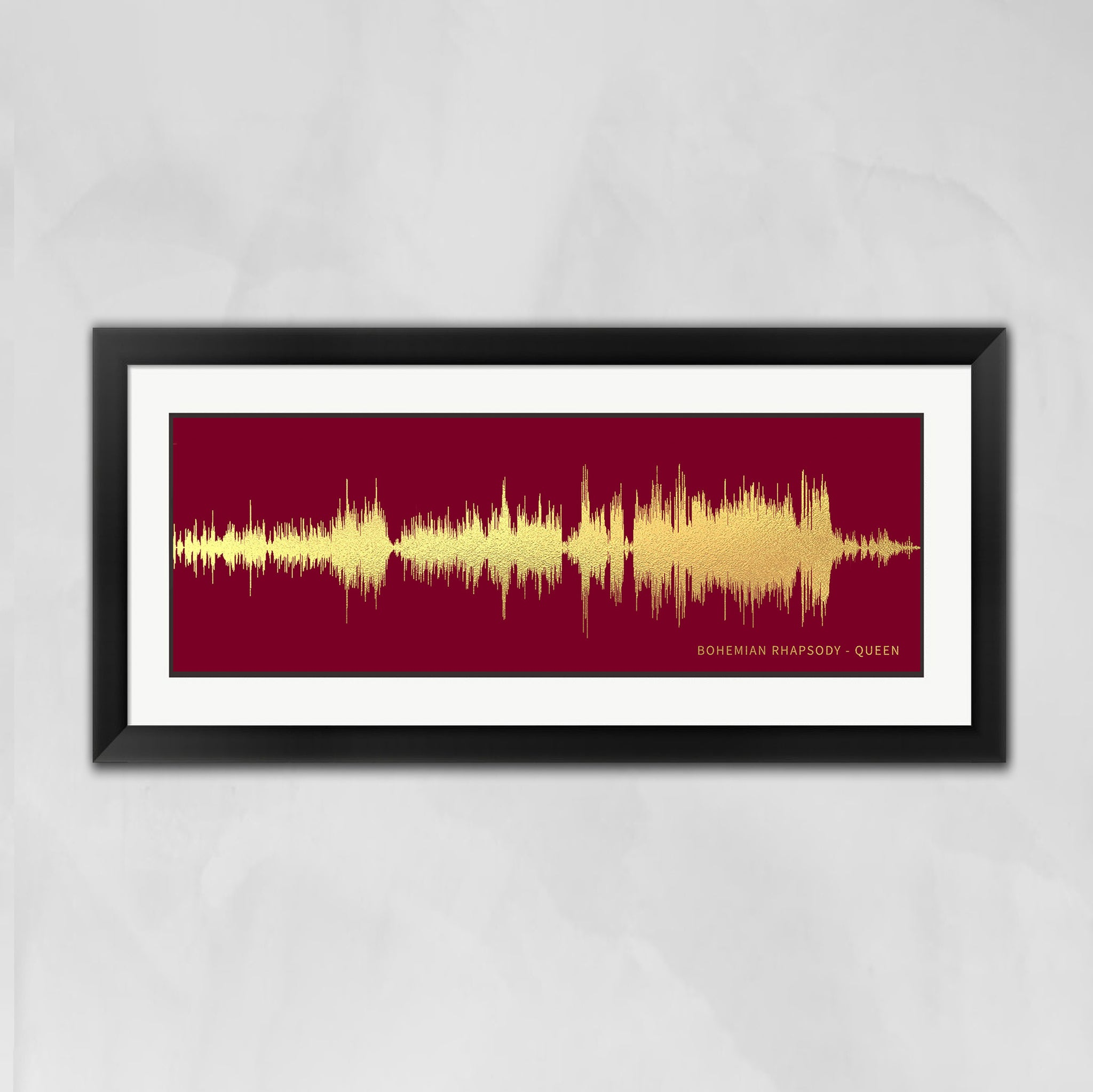 Song Wave Art | Soundwave From Your Favorite Song | Bohemian