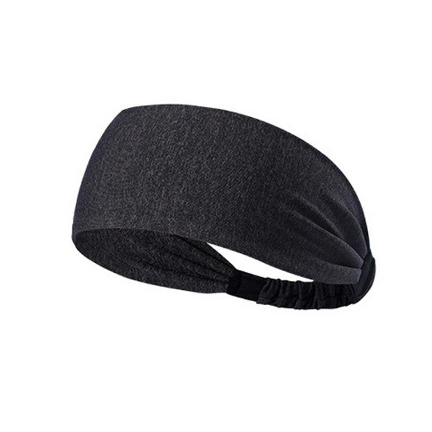 Fashion Fitness Headband Women Knitted Turban Head Warp Hair Band Wide Elastic Headband Yoga Lady Girls hair accessories