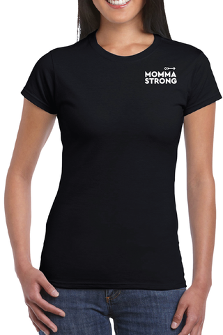 MommaStrong T-shirt - Black