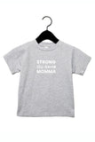 STRONG Toddler Tee - Heather Grey