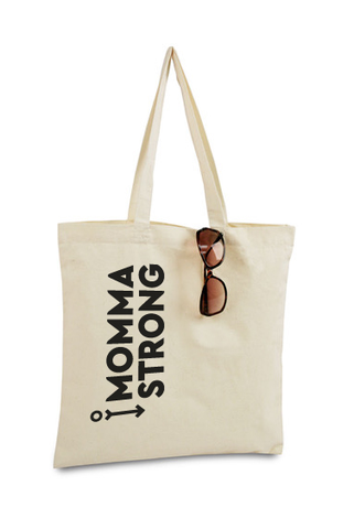 MommaStrong Tote Bag - Natural