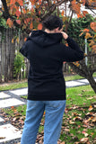 MommaStrong Zip Up Hoodie - Black