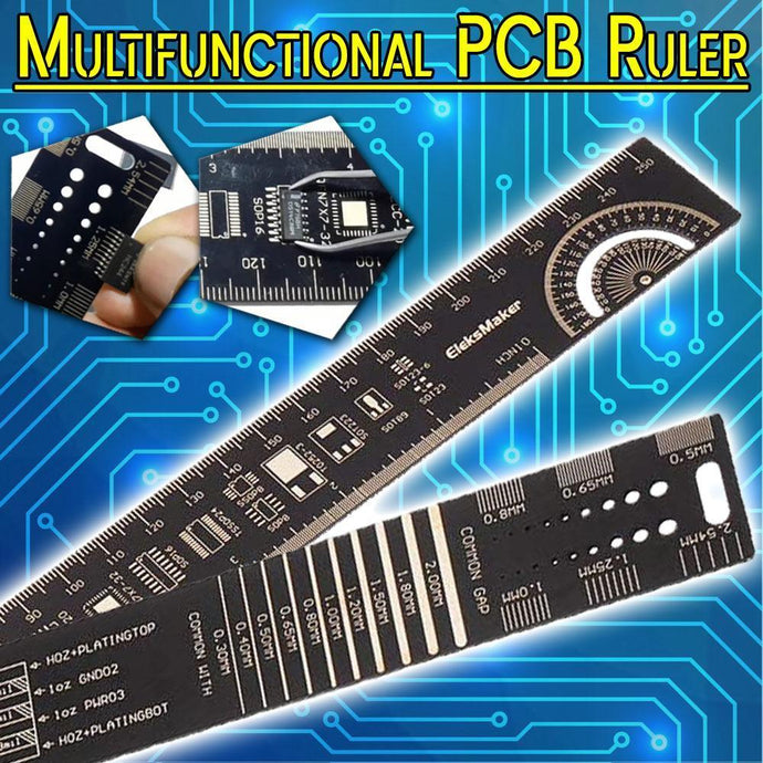 Multifunctional PCB Ruler