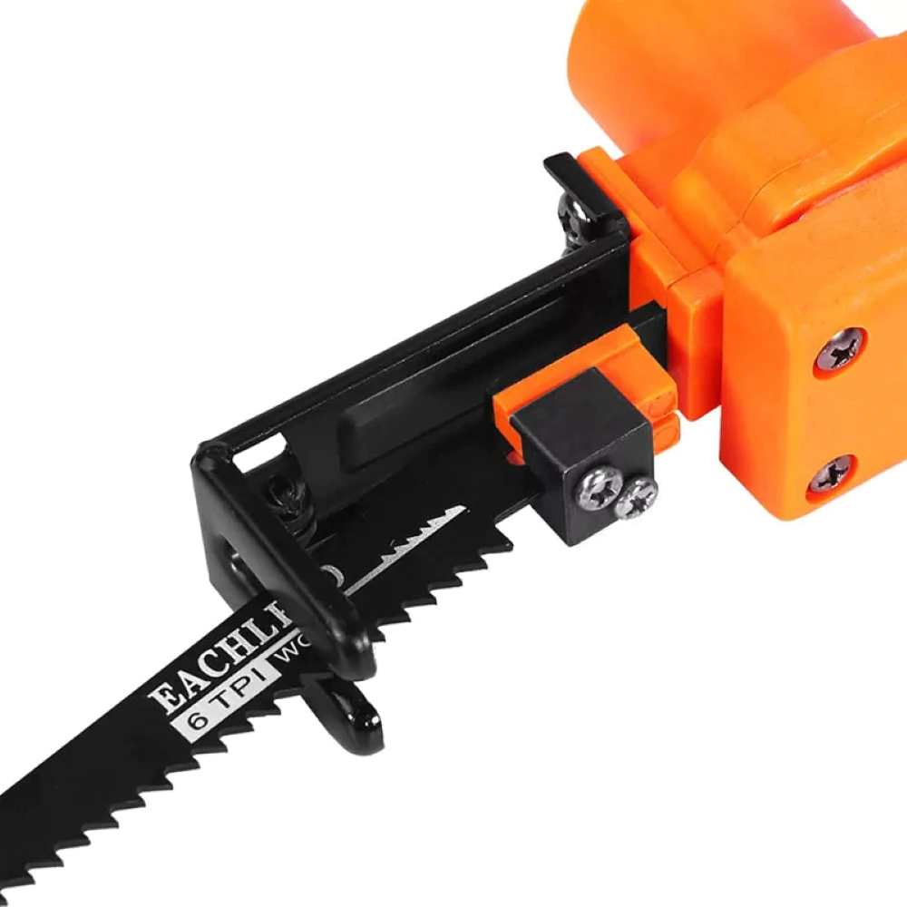 Power Drill Reciprocating Saw Attachment