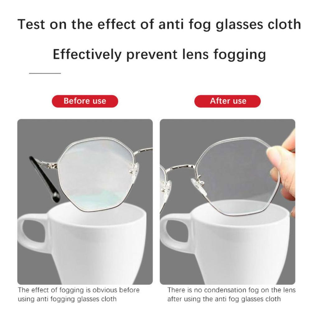 Glasses Anti Fog Wipe